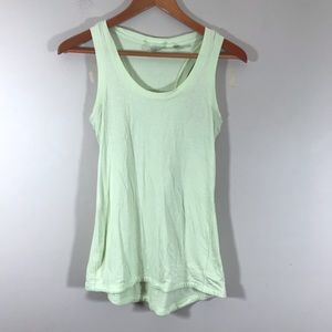 CALIA by Carrie Underwood light green tank small